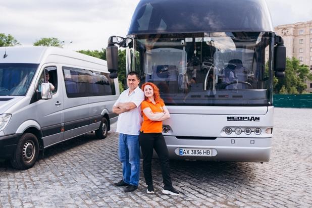 Заказ автобуса в Харькове